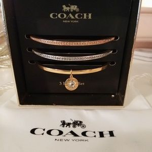 Coach 3-Bangle Set